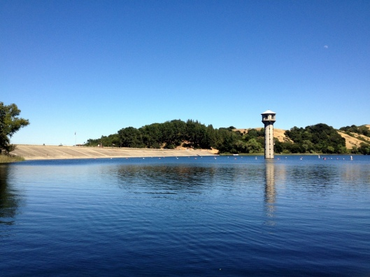 The Dam Tower at the Lafayette Reservoir