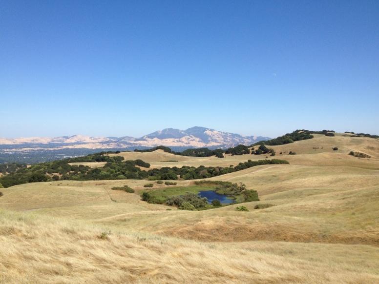 Looking across Sindicich Lagoon to Mt. Diablo